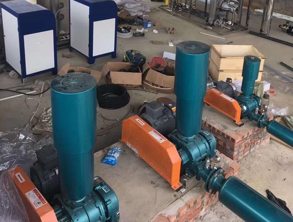 污水处理增氧曝气罗茨风机